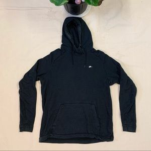 Vintage 2000s Nike Hoodie Faded Black